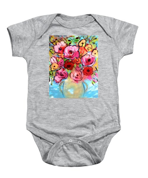 First Roses Of Summer Baby Onesie