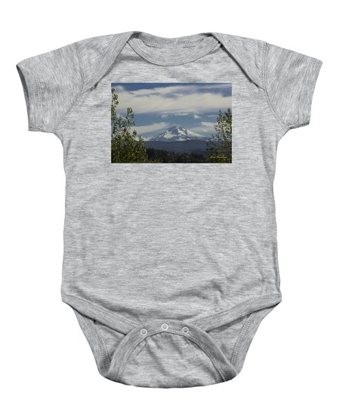 First Snow Signed Baby Onesie