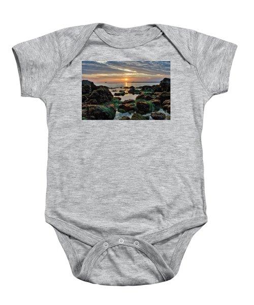 First Sunset Of 2018 Baby Onesie