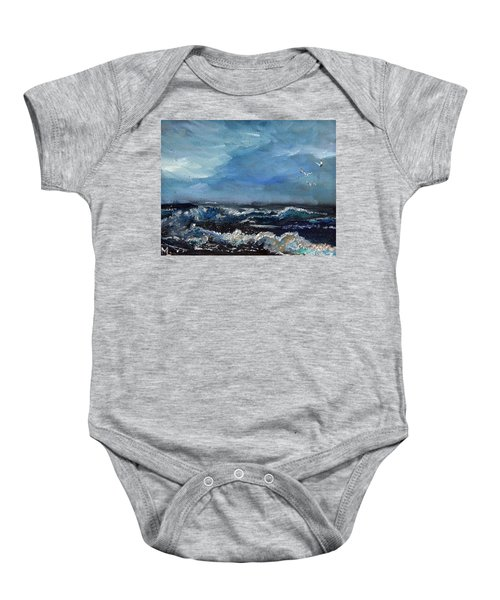 Fishing Expedition Baby Onesie