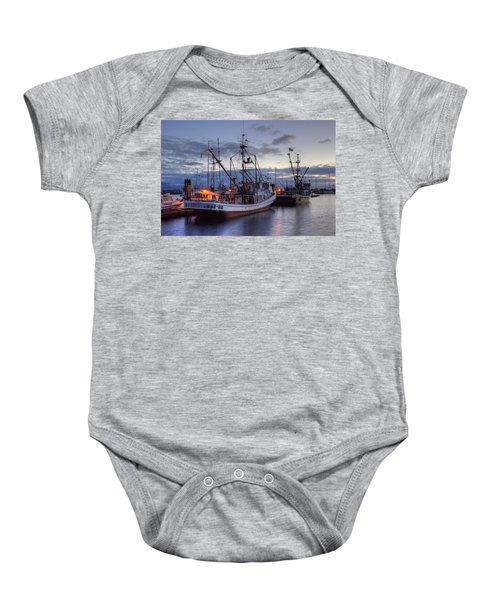 Fishing Fleet Baby Onesie