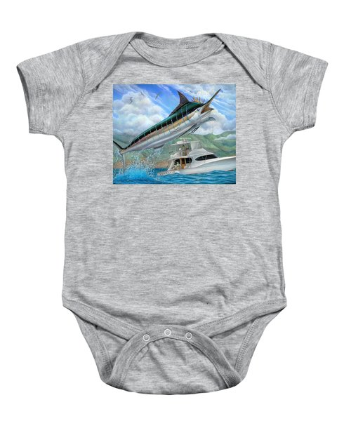 Fishing In The Vintage Baby Onesie