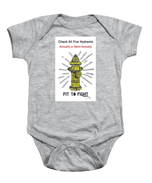 Fit To Fight Baby Onesie