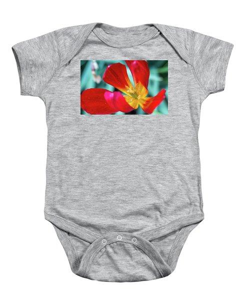 Flaming Tulip Baby Onesie