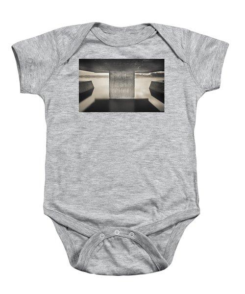 Flood Marking Baby Onesie