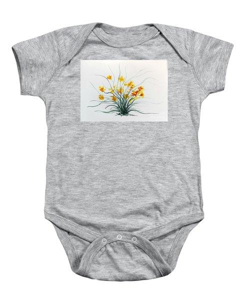 Floral 2 Baby Onesie