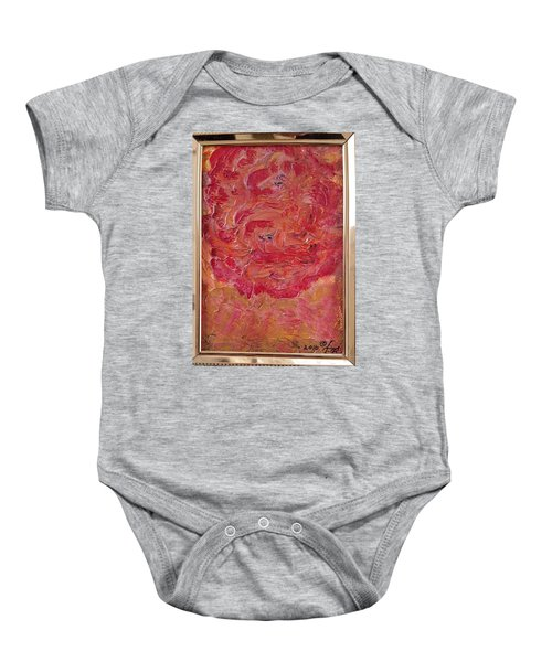 Floral Abstract 1 Baby Onesie