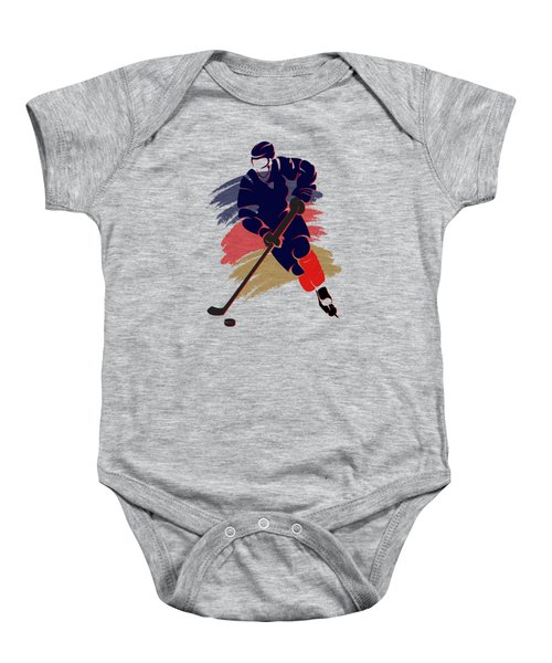 Florida Panthers Player Shirt Baby Onesie by Joe Hamilton