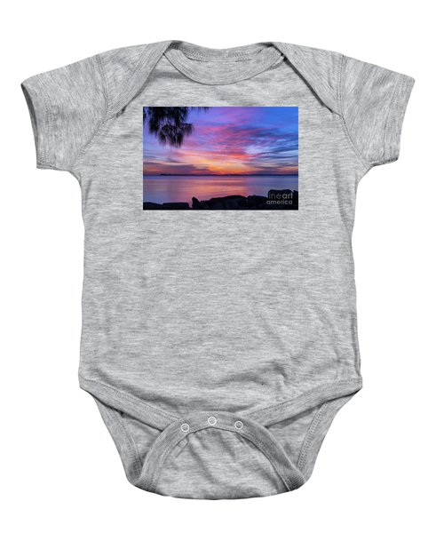 Florida Sunset #2 Baby Onesie