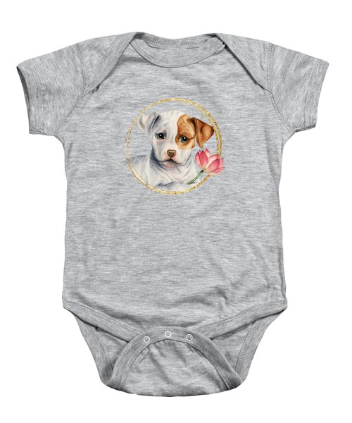 Flower Child 2 Baby Onesie