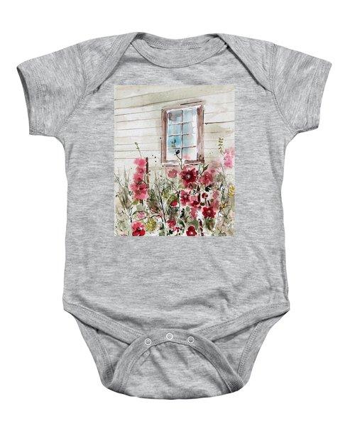 Flower Garden Baby Onesie