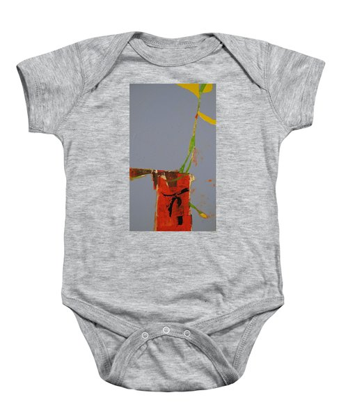 Flower In Pitcher- Abstract Of Course Baby Onesie