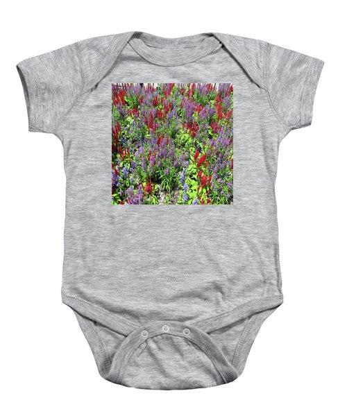 Flower Pop Baby Onesie
