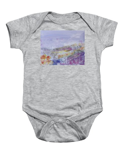 Flowers In The Ether Baby Onesie