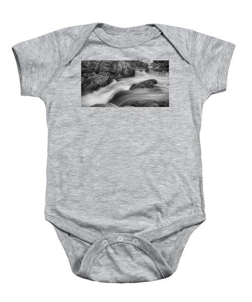 Flowing Waters At Kern River, California Baby Onesie