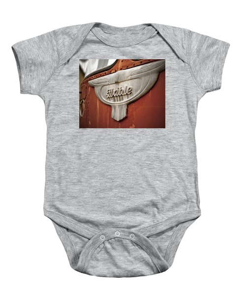 Flxible Clipper 1948 Baby Onesie