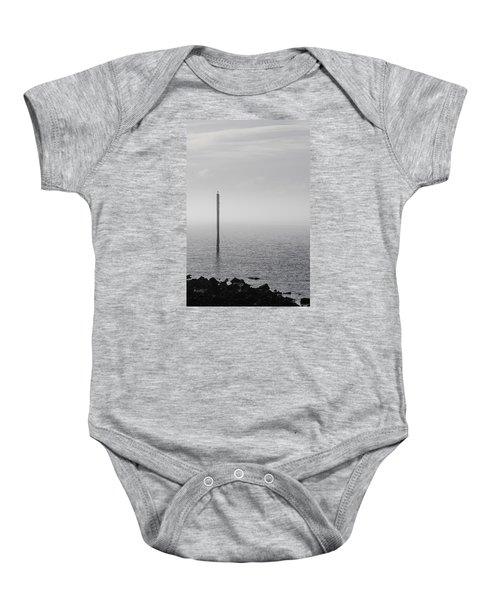 Fog On The Cape Fear River On Christmas Day 2015 Baby Onesie