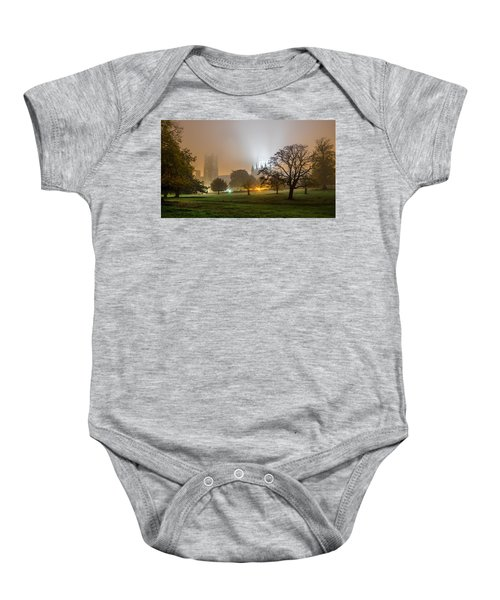 Foggy Cathedral Baby Onesie