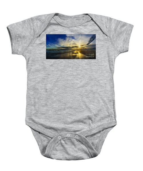 Follow The Sun Baby Onesie