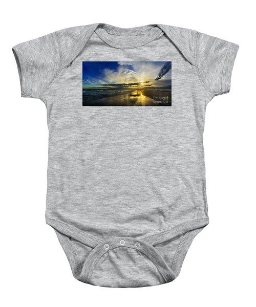Follow The Sun Baby Onesie