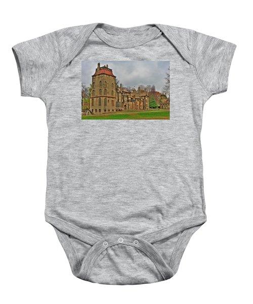 Fonthill Castle Baby Onesie