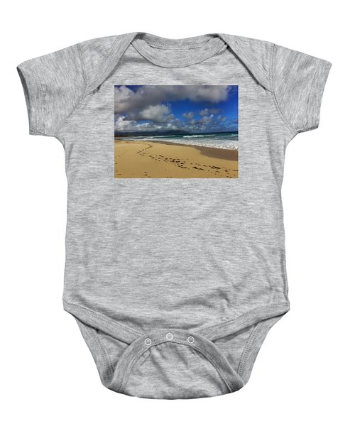 Footprints Baby Onesie