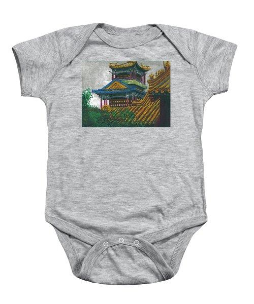 Forbidden City Baby Onesie