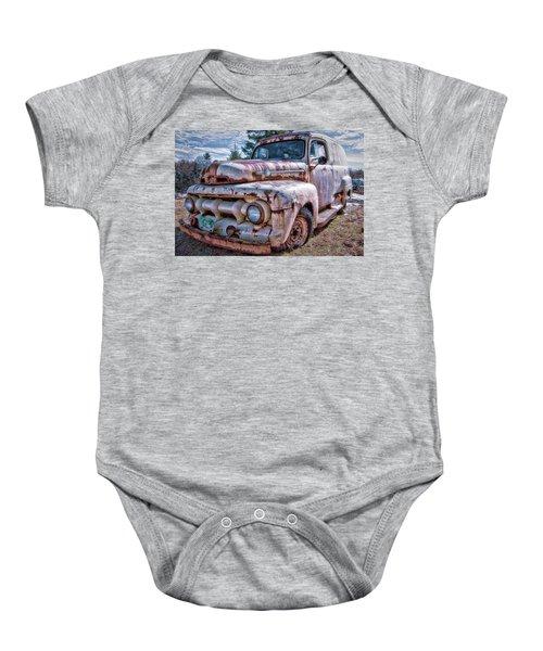 Ford Panel Truck Baby Onesie