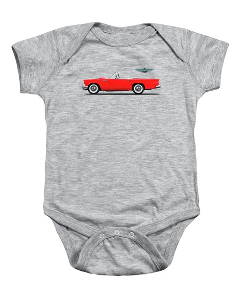 Ford Thunderbird 1957 Baby Onesie