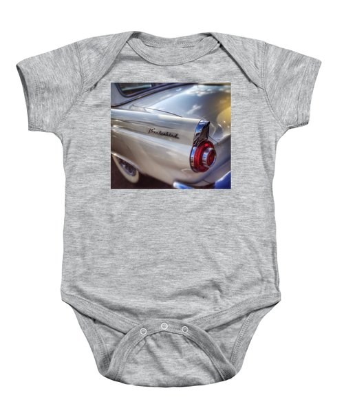 Ford Thunderbird Fender Color 2 Baby Onesie