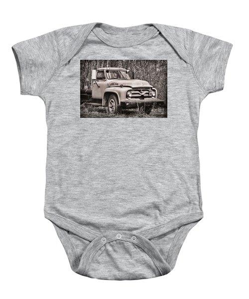 Ford V8 Baby Onesie