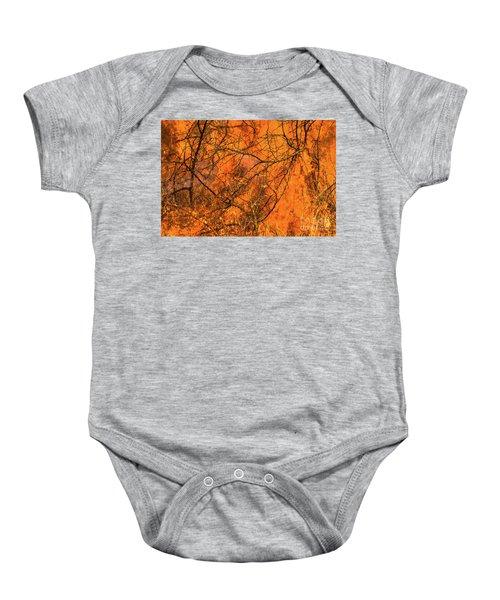 Forest Fire Baby Onesie