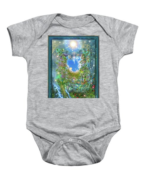 Forest Force Baby Onesie