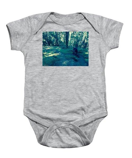 Forest Ride Baby Onesie