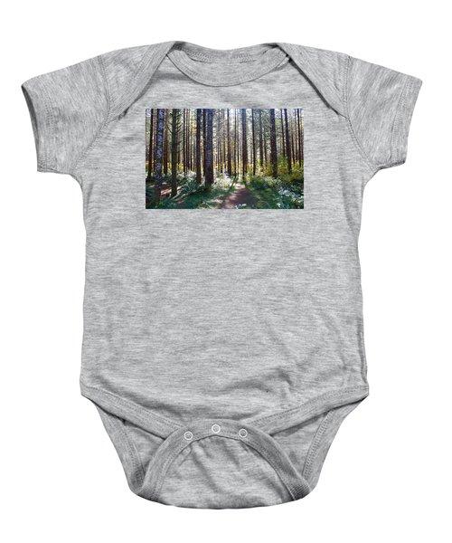Forest Stroll Baby Onesie