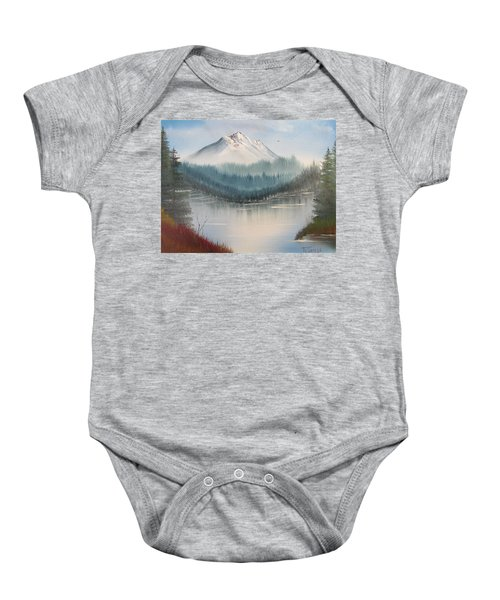 Fork In The River Baby Onesie