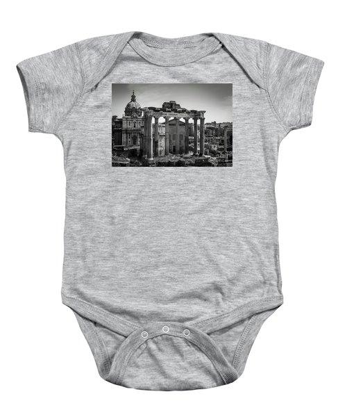 Foro Romano, Rome Italy Baby Onesie