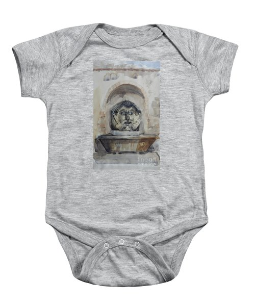 Fountain In Rome Baby Onesie