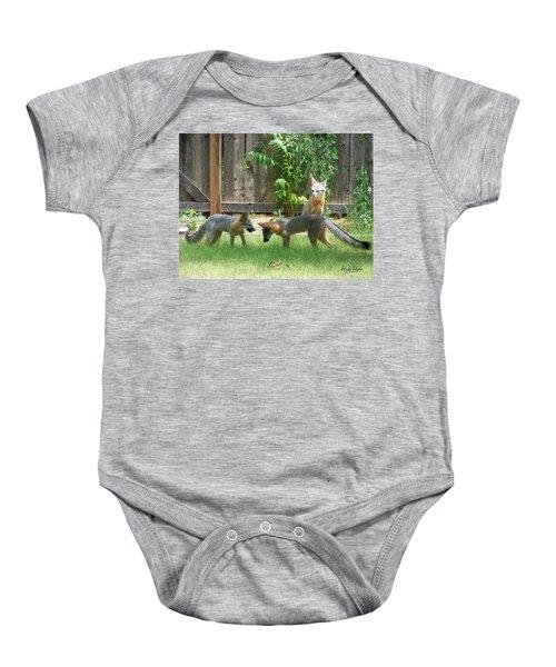 Fox Family Baby Onesie