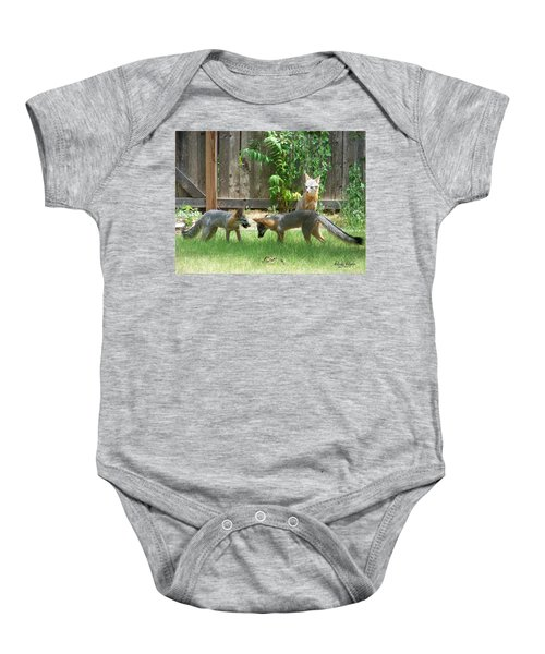 Fox Family Baby Onesie