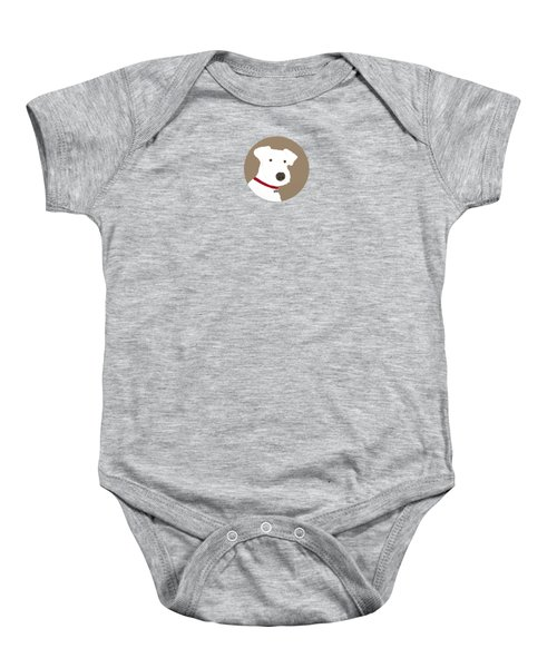 Fox Terrier Baby Onesie