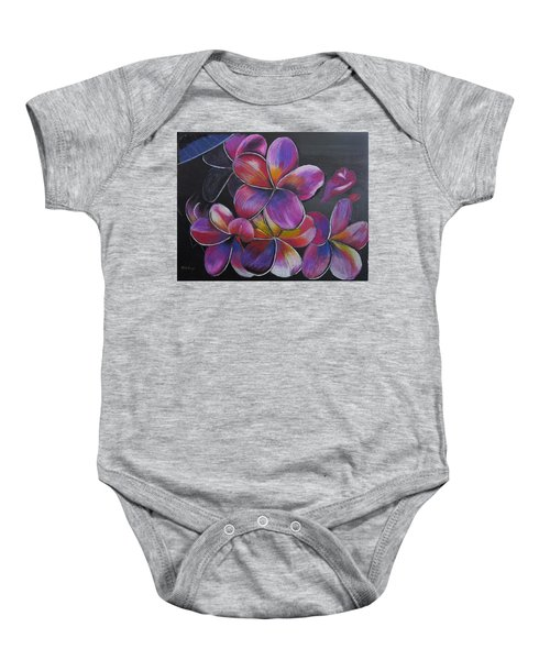 Frangipani  Baby Onesie