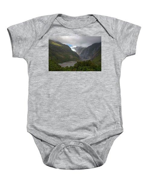 Franz Josef Glacier  Baby Onesie