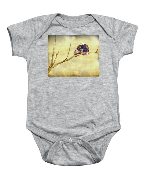 Baby Onesie featuring the photograph Freedom by James BO Insogna