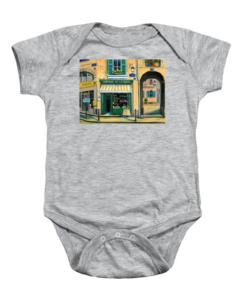 French Creperie Baby Onesie