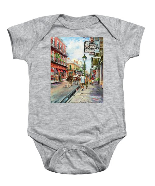 French Quarter Antiques Baby Onesie