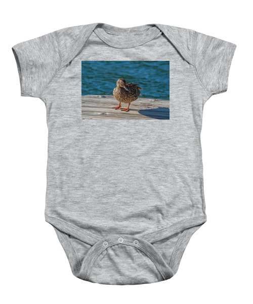 Friendly Duck Baby Onesie