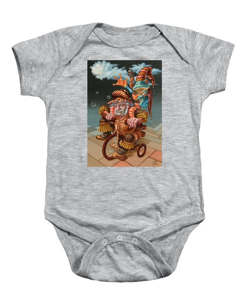 Froggy Circus Baby Onesie