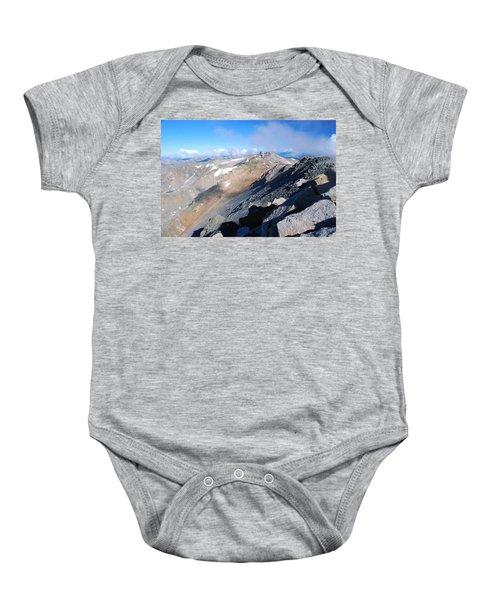 From Atop Mount Massive Baby Onesie