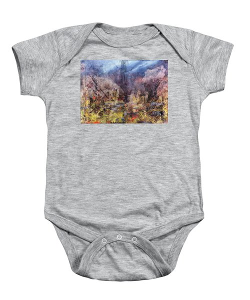 From The Rubble Baby Onesie